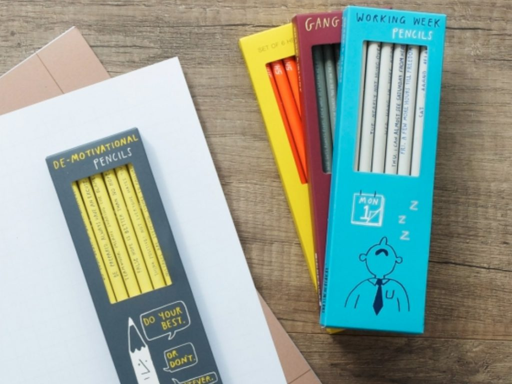 Blog-Graphiste-Papeterie-Passion-Carnet-Shopping-Slow-life-the-hapiness-planner-crayon-mood-pencil