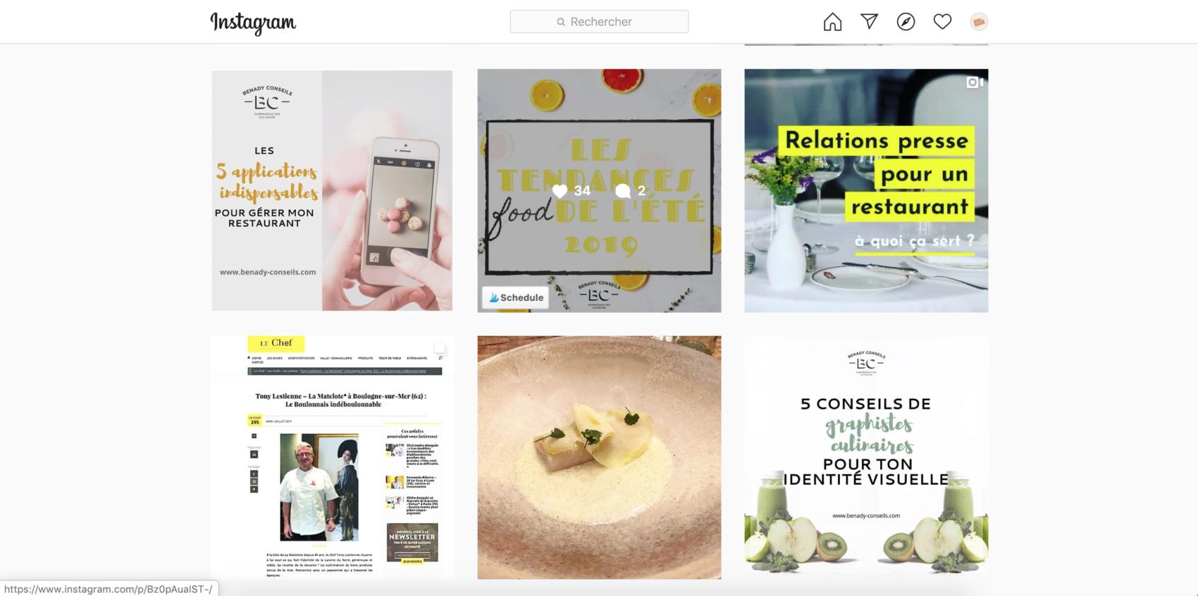 blog conseils pour la communication de son restaurant et de sa marque food