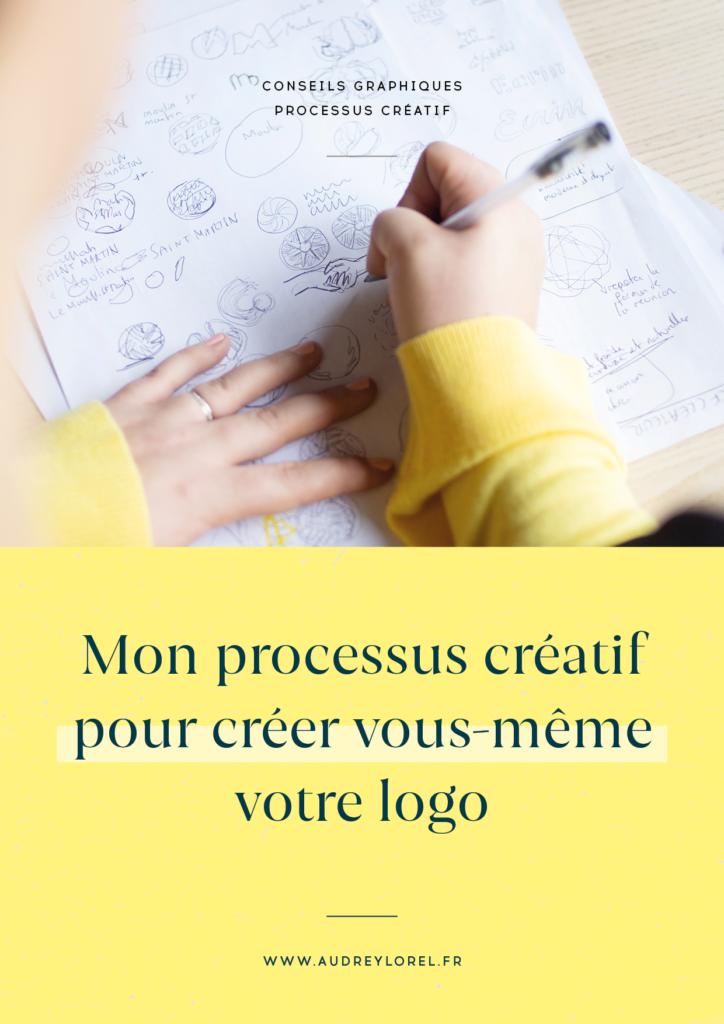 mon processus creatif de graphiste pour creer vous meme votre logo