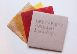 papier origami a manger